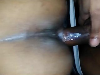 indian couple anal sex hubby cum asshole