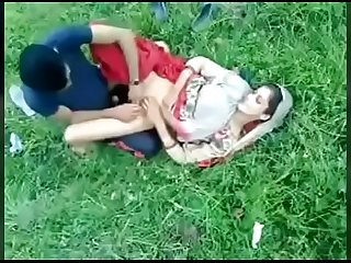 Indian mom outdoor sex in park